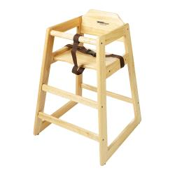 GET Enterprises - HC-100-N-KD-1 - Knock Down Natural High Chair image