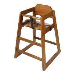 GET Enterprises - HC-100-W-KD-1 - Knock Down Walnut High Chair image