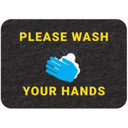 "New Pig - GMM21001 - ""Please Wash Your Hands"" Floor Sign image"