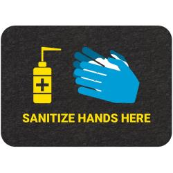 "New Pig - GMM21002 - ""Sanitize Hands Here"" Floor Sign image"