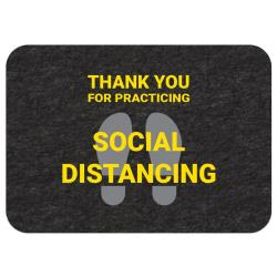 New Pig - GMM21004 - Social Distancing Floor Sign image