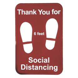 Tablecraft - 10540 - Social Distancing Sign image