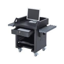 Cambro - VCSWR110 - Black Versa Cash Register Cart image
