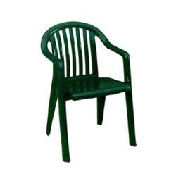 Grosfillex - US023078 - Amazon Green Miami Lowback Armchair - 4 Pack image