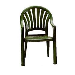 Grosfillex - US092078 - Amazon Green Pacific Fanback Armchair - 4 pack image
