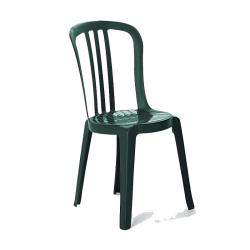 Grosfillex - US495578 - Amazon Green Miami Bistro Sidechair - 32 Pack image