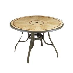 Grosfillex - 52236137 - 48 in Round Louisiana Pedestal Table image