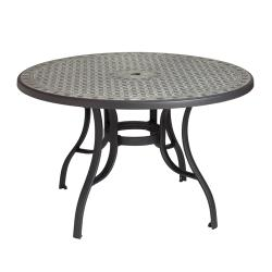 Grosfillex - US526102 - 48 in Round Cordoba Pedestal Table image