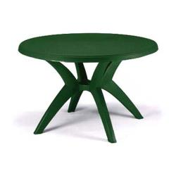 Grosfillex - US526778 - 46 in Round Amazon Green Ibiza Table image