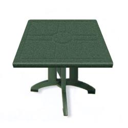 Grosfillex - US810078 - Amazon Green 32 in Vega Square Table - 12 Pack image