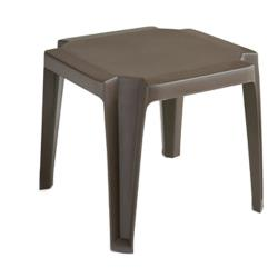 Grosfillex - 52099037 - Bronze Mist Miami Low Table - 30 Pack image