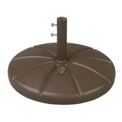 Grosfillex - US602137 - Bronze Mist Resin Umbrella Base image