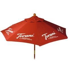 "Torani - M1049 - 72"" Burgundy Umbrella image"