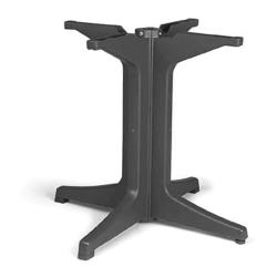 Grosfillex - US624202 - Charcoal 2000 Pedestal Table Base image