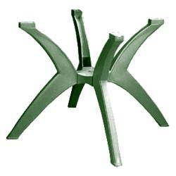 Grosfillex - US850078 - Amazon Green Y-Leg Pedestal Table Base image