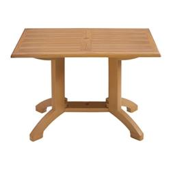 "Grosfillex - US240808 - Winston 48""x 32"" Square Table image"