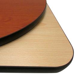 "Oak Street - CN48R - 48"" x 1"" Round Cherry/Natural Table Top image"