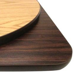 "Oak Street - OW48R - 48"" x 1"" Round Oak/Walnut Table Top image"