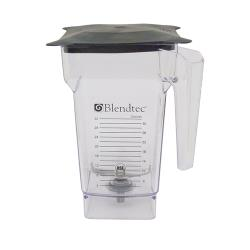 Blendtec - 100343 - Q Series 32 oz Container Assembly w/ Solid Lid image
