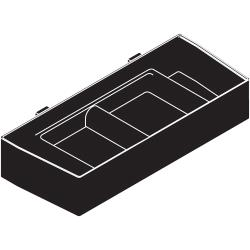 Bunn - 28268.0000 - Black Molded Drip Tray image