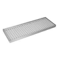 "Infra Corporation - DT5515ND - 15"" x 5 1/2"" x 3/4"" Countertop Drip Tray image"