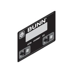 Bunn - 32126.1004 - Membrane Switch - Black image