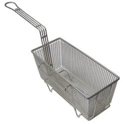 FMP - 225-1036 - 5 5/8 in x 13 1/4 in x 5 5/8 in Twin Fry Basket w/Right Hook. image