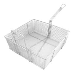 FMP - 225-1053 - Fryer Basket 16 3/4 in x 17 1/2 in x 6 in image