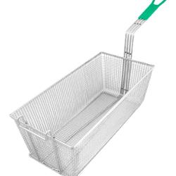 Update International - FB-178PH - 8 1/4 in x 17 in x 6 in Fryer Basket image
