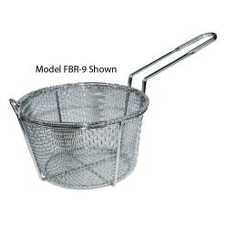 Winco - FBR-9 - 9 1/2 in Round Fryer Basket image