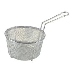 Winco - FBRS-8 - 8 1/2 in Round Fryer Basket image