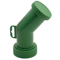 Smart Spout - SMRT1-G - Green Bulk Container Spout image