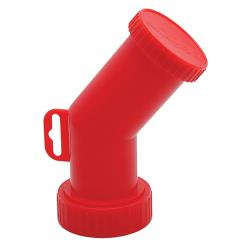 Smart Spout - SMRT1-R - Red Bulk Container Spout image