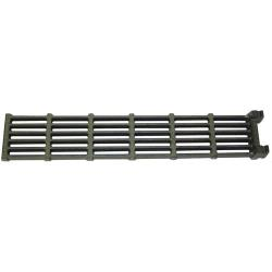 "Baker's Pride - T1216A - 24 1/2"" x 4 1/2"" Cast Iron Top  Grate image"