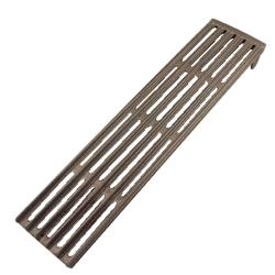 "Commercial - 5 1/4"" x 17 3/4"" Cast Iron Top Grate image"