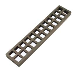 "Rankin Delux - RDLR-02-A - 3"" x 15"" Cast Iron Coal Grate image"