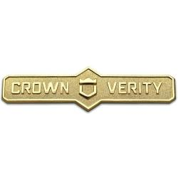 Crown Verity - ZCV-2003-16K - Bronze Name Plate Assembly image