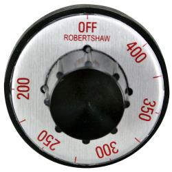 Allpoints Select - 221006 - 200° - 400° Black and Silver Thermostat Dial image