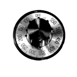 Commercial - Heavy Duty 100° - 550° Oven Dial image