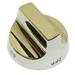 DCS - 14020-01 - Chrome Metal Burner Valve Knob image