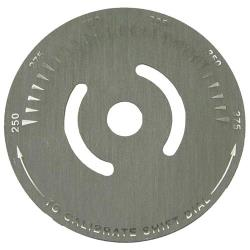Keating - 034977 - 250° - 375° Dial Plate image