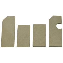 Vulcan Hart - 00-425882-000G1 - Ceramic Brick Set For Griddle image