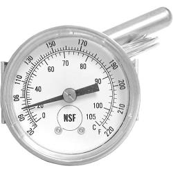 FWE - TMETER H-1 - 20° - 220° Food Warmer Thermometer image