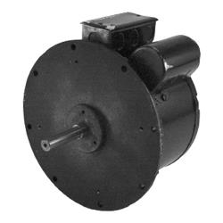 "Commercial - 9 1/2"" x 5 1/2"" Single Speed 1/2 HP Blower Motor image"