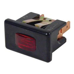 Commercial - 2 Tab Black Bezel Red Indicator Light image