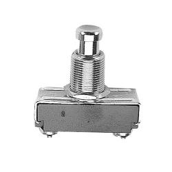 Commercial - SPST Momentary On/Off 2 Tab Push Button Switch image