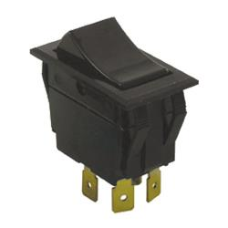 Allpoints Select - 421027 - DPST On/Off 4 Tab Rocker Switch image