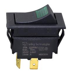 Allpoints Select - 421465 - DPST On/Off 4 Tab Lighted Rocker Switch image