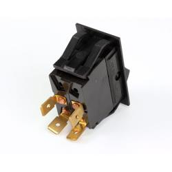 Blodgett - 30464 - Rocker Dpst Matt Black Switch image