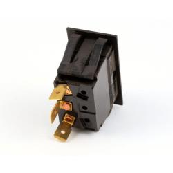 Blodgett - 30518 - Rocker Spdt Matt Black Switch image